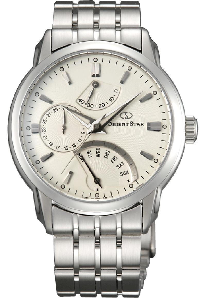 Orient DE00002W / SDE00002W0 - мужские наручные часы из коллекции StarORIENT<br><br><br>Бренд: ORIENT<br>Модель: ORIENT DE00002W<br>Артикул: DE00002W<br>Вариант артикула: SDE00002W0<br>Коллекция: Star<br>Подколлекция: None<br>Страна: Япония<br>Пол: мужские<br>Тип механизма: механические<br>Механизм: 40A50<br>Количество камней: None<br>Автоподзавод: есть<br>Источник энергии: пружинный механизм<br>Срок службы элемента питания: None<br>Дисплей: стрелки<br>Цифры: отсутствуют<br>Водозащита: WR 100<br>Противоударные: None<br>Материал корпуса: нерж. сталь<br>Материал браслета: нерж. сталь<br>Материал безеля: None<br>Стекло: сапфировое<br>Антибликовое покрытие: None<br>Цвет корпуса: None<br>Цвет браслета: None<br>Цвет циферблата: None<br>Цвет безеля: None<br>Размеры: 40x14.3 мм<br>Диаметр: None<br>Диаметр корпуса: None<br>Толщина: None<br>Ширина ремешка: None<br>Вес: None<br>Спорт-функции: None<br>Подсветка: стрелок<br>Вставка: None<br>Отображение даты: число, день недели<br>Хронограф: None<br>Таймер: None<br>Термометр: None<br>Хронометр: None<br>GPS: None<br>Радиосинхронизация: None<br>Барометр: None<br>Скелетон: None<br>Дополнительная информация: прозрачная задняя крышка<br>Дополнительные функции: индикатор запаса хода