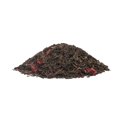 Пу Эр Вишня (чай черный байховый ароматизированный)Весовой чай<br>Пу Эр Вишня (чай черный байховый ароматизированный)<br><br><br><br><br><br><br><br><br><br>Время заваривания<br>Температура заваривания<br>Количество заварки<br><br><br><br>Рекомендуемое время заваривания 4-5мин.<br><br><br>Рекомендуемая температура заваривания 90-96 °С<br><br><br>Рекомендуемое количество заварки 4-5гр из расчета на 200-300мл.<br><br><br><br><br><br>Состав:китайский чай Пу Эр, ягоды вишни.<br>Описание:жемчужина весеннее-летней коллекции – Пу Эр Вишня! Доказательств особенно и не требуется. Достаточно сказать, что сочетание традиционного Пу Эра Шу, насыщенного, ароматного, землистого во вкусе, и терпких ягод зрелой вишни оценят и самые консервативные любители чая. Дело в том, что это сочетание вкусов само по себе очень правильно, недаром в Китае традиционным считается заваривать пу эр настоем из вишневых ягод и таким образом настраиваться с утра на рабочий лад. Так что необходимо помнить, что этот напиток обладает чрезвычайно тонизирующими организм свойствами, поэтому пить его лучше в первой половине дня.<br>
