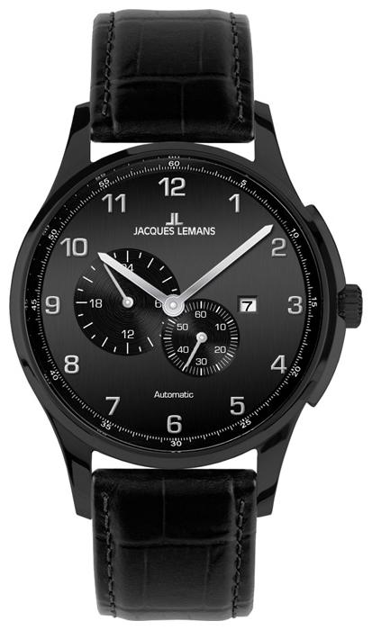 Jacques Lemans 1-1731B - мужские наручные часы из коллекции LondonJacques Lemans<br><br><br>Бренд: Jacques Lemans<br>Модель: Jacques Lemans 1-1731B<br>Артикул: 1-1731B<br>Вариант артикула: None<br>Коллекция: London<br>Подколлекция: None<br>Страна: Австрия<br>Пол: мужские<br>Тип механизма: механические<br>Механизм: None<br>Количество камней: None<br>Автоподзавод: None<br>Источник энергии: пружинный механизм<br>Срок службы элемента питания: None<br>Дисплей: стрелки<br>Цифры: арабские<br>Водозащита: WR 100<br>Противоударные: None<br>Материал корпуса: нерж. сталь, IP покрытие (полное)<br>Материал браслета: кожа<br>Материал безеля: None<br>Стекло: минеральное<br>Антибликовое покрытие: None<br>Цвет корпуса: None<br>Цвет браслета: None<br>Цвет циферблата: None<br>Цвет безеля: None<br>Размеры: 44 мм<br>Диаметр: None<br>Диаметр корпуса: None<br>Толщина: None<br>Ширина ремешка: None<br>Вес: None<br>Спорт-функции: None<br>Подсветка: None<br>Вставка: None<br>Отображение даты: число<br>Хронограф: None<br>Таймер: None<br>Термометр: None<br>Хронометр: None<br>GPS: None<br>Радиосинхронизация: None<br>Барометр: None<br>Скелетон: None<br>Дополнительная информация: None<br>Дополнительные функции: второй часовой пояс