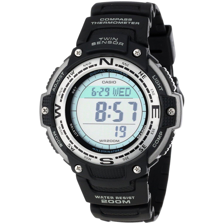 Casio OutGear SGW-100-1V / SGW-100-1VER - мужские наручные часыCasio<br><br><br>Бренд: Casio<br>Модель: Casio SGW-100-1V<br>Артикул: SGW-100-1V<br>Вариант артикула: SGW-100-1VER<br>Коллекция: OutGear<br>Подколлекция: None<br>Страна: Япония<br>Пол: мужские<br>Тип механизма: кварцевые<br>Механизм: None<br>Количество камней: None<br>Автоподзавод: None<br>Источник энергии: от батарейки<br>Срок службы элемента питания: None<br>Дисплей: цифры<br>Цифры: None<br>Водозащита: WR 200<br>Противоударные: None<br>Материал корпуса: нерж. сталь + пластик<br>Материал браслета: каучук<br>Материал безеля: None<br>Стекло: минеральное<br>Антибликовое покрытие: None<br>Цвет корпуса: None<br>Цвет браслета: None<br>Цвет циферблата: None<br>Цвет безеля: None<br>Размеры: 51.5x47.6x13.2 мм<br>Диаметр: None<br>Диаметр корпуса: None<br>Толщина: None<br>Ширина ремешка: None<br>Вес: 55 г<br>Спорт-функции: секундомер, таймер обратного отсчета, термометр, компас<br>Подсветка: дисплея<br>Вставка: None<br>Отображение даты: вечный календарь, число, месяц, год, день недели<br>Хронограф: None<br>Таймер: None<br>Термометр: None<br>Хронометр: None<br>GPS: None<br>Радиосинхронизация: None<br>Барометр: None<br>Скелетон: None<br>Дополнительная информация: повтор сигнала будильника<br>Дополнительные функции: второй часовой пояс, будильник (количество установок: 5)