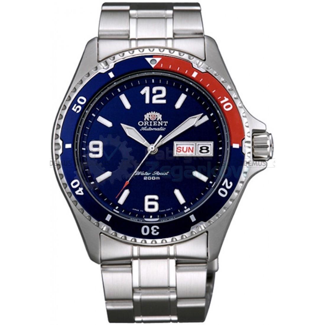 Orient AA02009D / FAA02009D9 - мужские наручные часыORIENT<br><br><br>Бренд: ORIENT<br>Модель: ORIENT AA02009D<br>Артикул: AA02009D<br>Вариант артикула: FAA02009D9<br>Коллекция: None<br>Подколлекция: None<br>Страна: Япония<br>Пол: мужские<br>Тип механизма: механические<br>Механизм: F69<br>Количество камней: None<br>Автоподзавод: есть<br>Источник энергии: пружинный механизм<br>Срок службы элемента питания: None<br>Дисплей: стрелки<br>Цифры: арабские<br>Водозащита: WR 200<br>Противоударные: None<br>Материал корпуса: нерж. сталь, PVD покрытие (частичное)<br>Материал браслета: нерж. сталь<br>Материал безеля: None<br>Стекло: минеральное<br>Антибликовое покрытие: None<br>Цвет корпуса: серебристый<br>Цвет браслета: серебристый<br>Цвет циферблата: None<br>Цвет безеля: None<br>Размеры: None<br>Диаметр: None<br>Диаметр корпуса: 41.5<br>Толщина: None<br>Ширина ремешка: None<br>Вес: None<br>Спорт-функции: None<br>Подсветка: стрелок<br>Вставка: None<br>Отображение даты: число, день недели<br>Хронограф: None<br>Таймер: None<br>Термометр: None<br>Хронометр: None<br>GPS: None<br>Радиосинхронизация: None<br>Барометр: None<br>Скелетон: None<br>Дополнительная информация: None<br>Дополнительные функции: None
