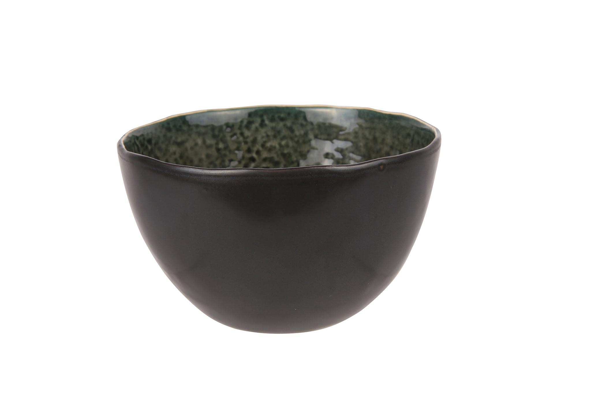 Миска 14х8,5 см COSY&amp;TRENDY Laguna verde 9583298Новинки<br>Миска 14х8,5 см COSY&amp;TRENDY Laguna verde 9583298<br><br>Эта коллекция из каменной керамики поражает удивительным цветом, текстурой и формой. Насыщенный темно-серый оттенок с волнистым рельефом погружают в прибрежную лагуну. Органические края для дополнительного дизайна. Коллекция Laguna Verde воссоздает исключительный внешний вид приготовленных блюд.<br>