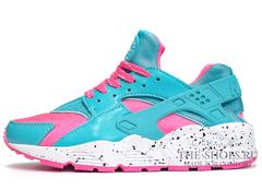 Кроссовки Женские Nike Air Huarache Sky Blue Pink