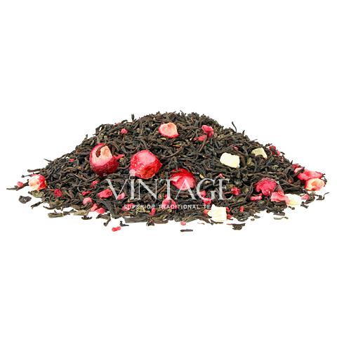 Пузырьки лимонада (чай черный байховый ароматизированный листовой)Весовой чай<br>Пузырьки лимонада (чай черный байховый ароматизированный листовой)<br><br><br><br><br><br><br><br><br><br>Время заваривания<br>Температура заваривания<br>Количество заварки<br><br><br><br>Рекомендуемое время заваривания 3-4мин.<br><br><br>Рекомендуемая температура заваривания 80-90 °С<br><br><br>Рекомендуемое количество заварки 3-4гр из расчета на 200-300мл.<br><br><br><br><br><br>Состав:черный цейлонский чай, китайский зеленый чай ганпаудер, малина, ананас, папайя, клубника, клюква резаная, облепиха.<br>Описание:клубникаотличный источник витамина С. Тропические нотки ананаса делают вкусы клубники и малины более тонкими и изысканными.<br>