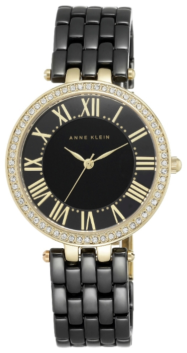 Anne Klein 2130BKGB - женские наручные часы из коллекции CeramicsAnne Klein<br><br><br>Бренд: Anne Klein<br>Модель: Anne Klein 2130 BKGB<br>Артикул: 2130BKGB<br>Вариант артикула: None<br>Коллекция: Ceramics<br>Подколлекция: None<br>Страна: США<br>Пол: женские<br>Тип механизма: кварцевые<br>Механизм: None<br>Количество камней: None<br>Автоподзавод: None<br>Источник энергии: от батарейки<br>Срок службы элемента питания: None<br>Дисплей: стрелки<br>Цифры: римские<br>Водозащита: WR 30<br>Противоударные: None<br>Материал корпуса: не указан, PVD покрытие (полное)<br>Материал браслета: керамика<br>Материал безеля: None<br>Стекло: минеральное<br>Антибликовое покрытие: None<br>Цвет корпуса: None<br>Цвет браслета: None<br>Цвет циферблата: None<br>Цвет безеля: None<br>Размеры: 34 мм<br>Диаметр: None<br>Диаметр корпуса: None<br>Толщина: None<br>Ширина ремешка: None<br>Вес: None<br>Спорт-функции: None<br>Подсветка: None<br>Вставка: None<br>Отображение даты: None<br>Хронограф: None<br>Таймер: None<br>Термометр: None<br>Хронометр: None<br>GPS: None<br>Радиосинхронизация: None<br>Барометр: None<br>Скелетон: None<br>Дополнительная информация: None<br>Дополнительные функции: None