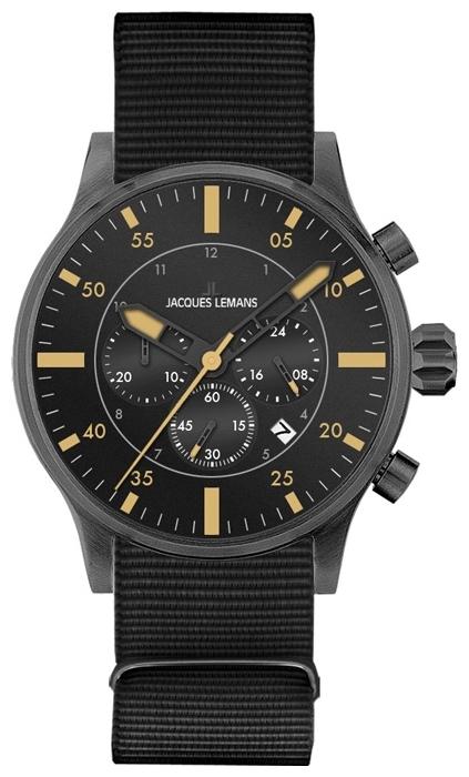 Jacques Lemans 1-1749C - мужские наручные часы из коллекции PortoJacques Lemans<br><br><br>Бренд: Jacques Lemans<br>Модель: Jacques Lemans 1-1749C<br>Артикул: 1-1749C<br>Вариант артикула: None<br>Коллекция: Porto<br>Подколлекция: None<br>Страна: Австрия<br>Пол: мужские<br>Тип механизма: кварцевые<br>Механизм: None<br>Количество камней: None<br>Автоподзавод: None<br>Источник энергии: от батарейки<br>Срок службы элемента питания: None<br>Дисплей: стрелки<br>Цифры: арабские<br>Водозащита: WR 100<br>Противоударные: None<br>Материал корпуса: нерж. сталь, IP покрытие (полное)<br>Материал браслета: текстиль<br>Материал безеля: None<br>Стекло: минеральное<br>Антибликовое покрытие: None<br>Цвет корпуса: None<br>Цвет браслета: None<br>Цвет циферблата: None<br>Цвет безеля: None<br>Размеры: 44 мм<br>Диаметр: None<br>Диаметр корпуса: None<br>Толщина: None<br>Ширина ремешка: None<br>Вес: None<br>Спорт-функции: секундомер<br>Подсветка: стрелок<br>Вставка: None<br>Отображение даты: число<br>Хронограф: есть<br>Таймер: None<br>Термометр: None<br>Хронометр: None<br>GPS: None<br>Радиосинхронизация: None<br>Барометр: None<br>Скелетон: None<br>Дополнительная информация: None<br>Дополнительные функции: второй часовой пояс