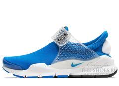 Кроссовки Мужские Nike Sock Dart SP Fragment Design Blue White