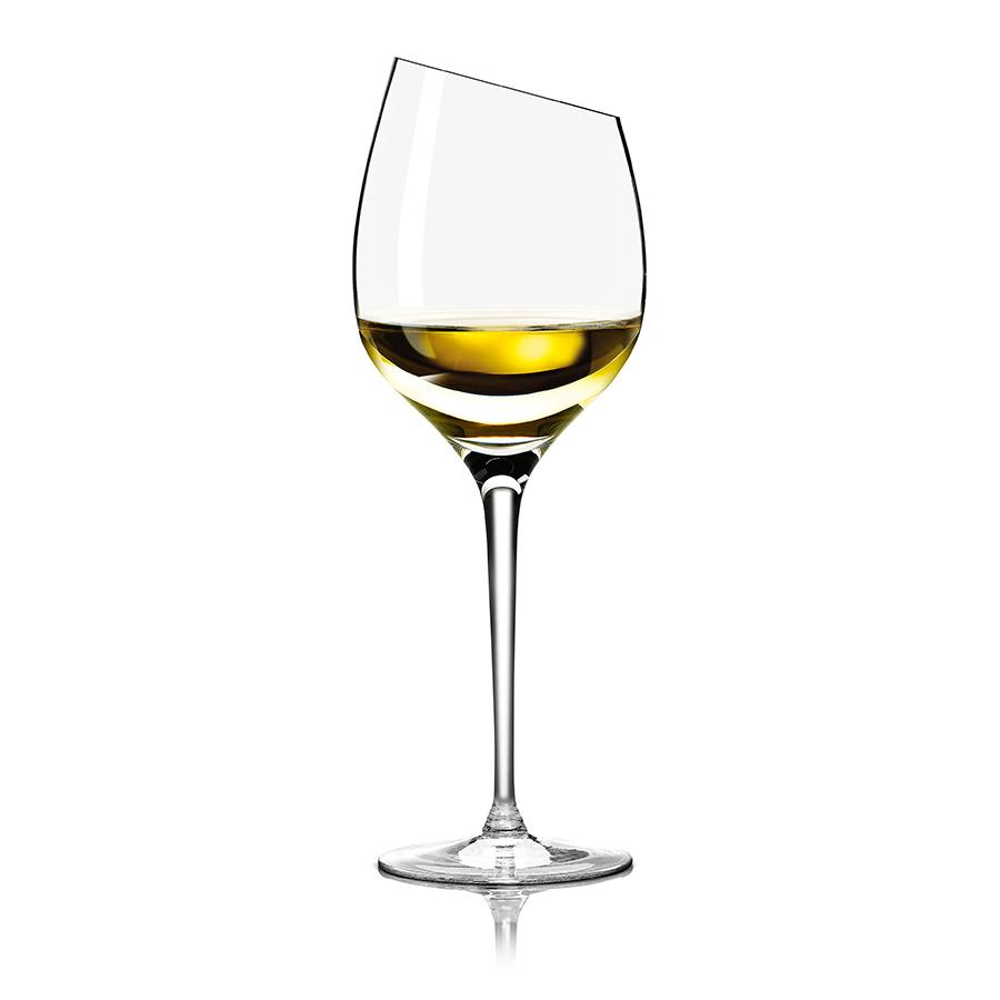Бокал для белого вина 300 мл Eva Solo 541006Бокалы и стаканы<br>Замечательный вариант подарка для ценителей качественного алкоголя. Бокал изготовен из дутого стекла без дополнительных примесей, поэтому вкус напитка останется неизменным. Эффектный и при этом минималистичный дизайн станет отличным дополнением интерьера бара. Ручная работа.<br>