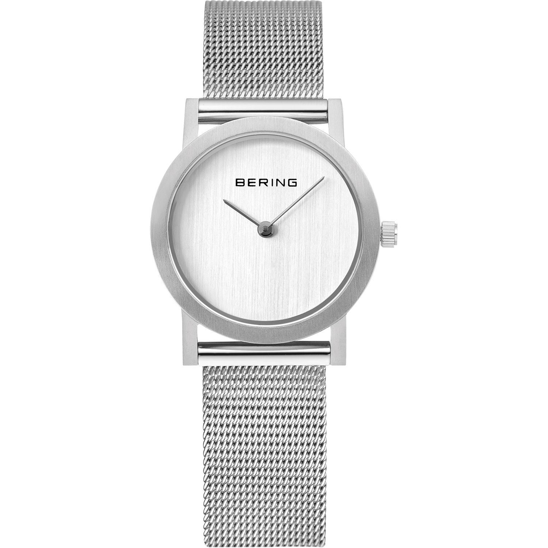 Bering 13427-000 - женские наручные часы из коллекции ClassicBering<br>женские, сапфировое стекло, корпус из нерж. стали,  браслет из нерж. стали, циферблат белого цвета<br><br>Бренд: Bering<br>Модель: Bering 13427-000<br>Артикул: 13427-000<br>Вариант артикула: ber-13427-000<br>Коллекция: Classic<br>Подколлекция: None<br>Страна: Дания<br>Пол: женские<br>Тип механизма: кварцевые<br>Механизм: None<br>Количество камней: None<br>Автоподзавод: None<br>Источник энергии: от батарейки<br>Срок службы элемента питания: None<br>Дисплей: стрелки<br>Цифры: отсутствуют<br>Водозащита: WR 30<br>Противоударные: None<br>Материал корпуса: нерж. сталь<br>Материал браслета: нерж. сталь<br>Материал безеля: None<br>Стекло: сапфировое<br>Антибликовое покрытие: None<br>Цвет корпуса: серебристый<br>Цвет браслета: серебрянный<br>Цвет циферблата: None<br>Цвет безеля: None<br>Размеры: 27x5.5 мм<br>Диаметр: 27 мм<br>Диаметр корпуса: None<br>Толщина: None<br>Ширина ремешка: None<br>Вес: None<br>Спорт-функции: None<br>Подсветка: None<br>Вставка: None<br>Отображение даты: None<br>Хронограф: None<br>Таймер: None<br>Термометр: None<br>Хронометр: None<br>GPS: None<br>Радиосинхронизация: None<br>Барометр: None<br>Скелетон: None<br>Дополнительная информация: None<br>Дополнительные функции: None