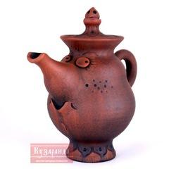 керамический чайник из глины