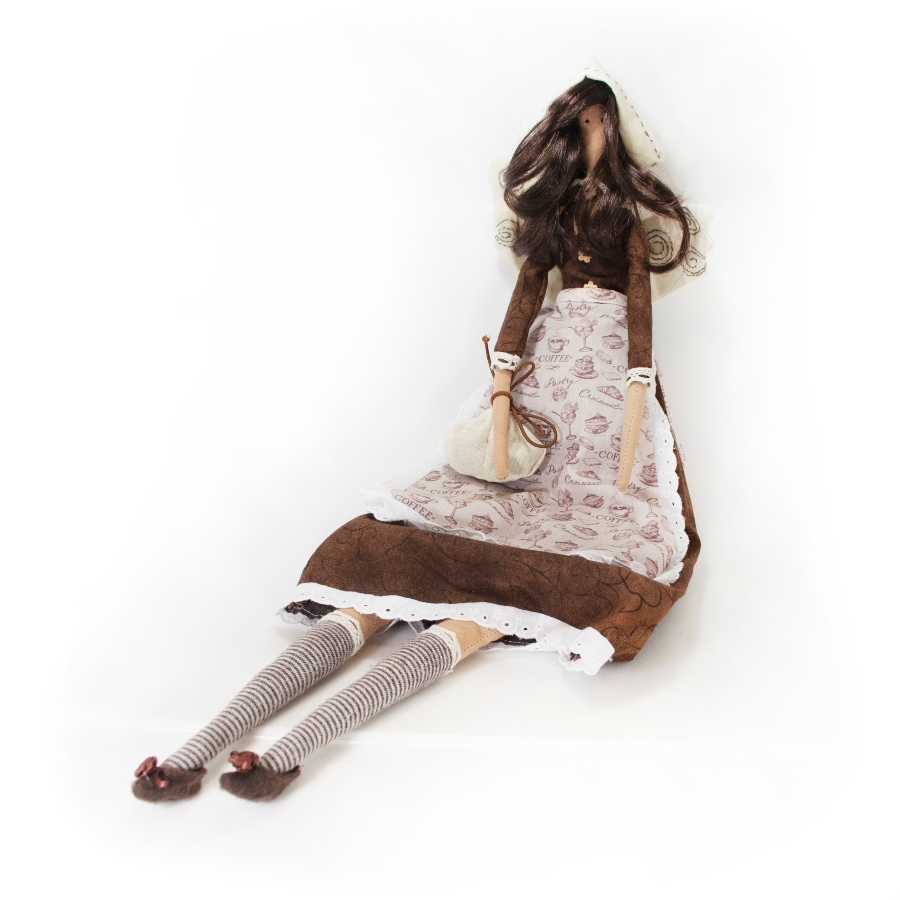 Кукла Кофейная фея (Подарки для женщин)Подарки для женщин<br>Кукла мастера Марины Кособок <br>Кофейная фея<br>