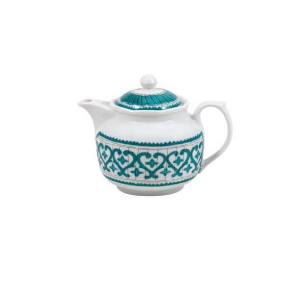 Чайник Фарфор и керамика Casa Alegre, Португалия<br>Чайник Декор Pateo<br>Материал: Фарфор<br>Бренд: Casa Alegre<br>Производитель: Vista Alegre Atlantis, Португалия<br>