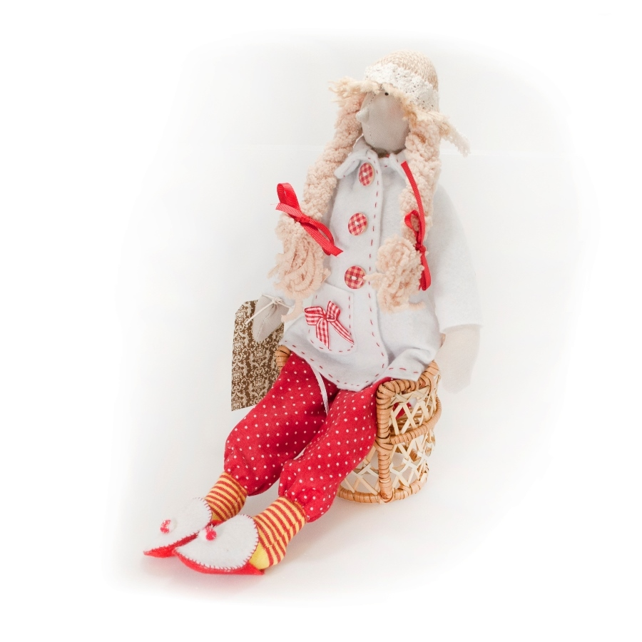 Кукла Мадам (Подарки для женщин)Подарки для женщин<br>Кукла мастера Марины Кособок <br>Мадам<br>