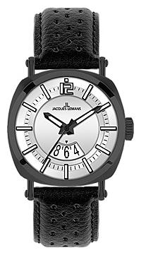 Jacques Lemans 1-1740F - мужские наручные часы из коллекции PanamaJacques Lemans<br><br><br>Бренд: Jacques Lemans<br>Модель: Jacques Lemans 1-1740F<br>Артикул: 1-1740F<br>Вариант артикула: None<br>Коллекция: Panama<br>Подколлекция: None<br>Страна: Австрия<br>Пол: мужские<br>Тип механизма: кварцевые<br>Механизм: None<br>Количество камней: None<br>Автоподзавод: None<br>Источник энергии: от батарейки<br>Срок службы элемента питания: None<br>Дисплей: стрелки<br>Цифры: арабские<br>Водозащита: WR 100<br>Противоударные: None<br>Материал корпуса: нерж. сталь, IP покрытие (полное)<br>Материал браслета: кожа<br>Материал безеля: None<br>Стекло: минеральное<br>Антибликовое покрытие: None<br>Цвет корпуса: None<br>Цвет браслета: None<br>Цвет циферблата: None<br>Цвет безеля: None<br>Размеры: 42 мм<br>Диаметр: None<br>Диаметр корпуса: None<br>Толщина: None<br>Ширина ремешка: None<br>Вес: None<br>Спорт-функции: None<br>Подсветка: стрелок<br>Вставка: None<br>Отображение даты: число<br>Хронограф: None<br>Таймер: None<br>Термометр: None<br>Хронометр: None<br>GPS: None<br>Радиосинхронизация: None<br>Барометр: None<br>Скелетон: None<br>Дополнительная информация: None<br>Дополнительные функции: None