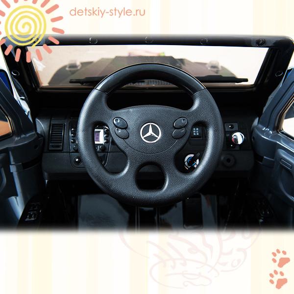 электромобиль mercedes benz g55 amg, joy automatic, купить, цена, доставка, бесплатная доставка по москве, мерседес бенц g55 amg, кожаное сидение, джой автоматик, eva, детский электромобиль, лицензия, 2,4g bluetooth, стоимость, доставка по россии, заказать, официальный дилер
