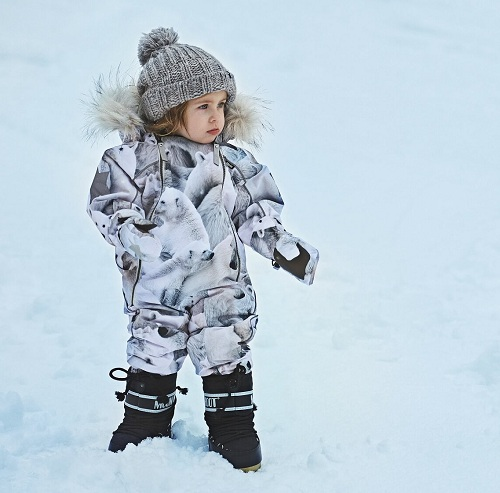 Комбинезон Molo Pyxis Fur Polar Bear купить выгодно в интернет-магазине Мама Любит!