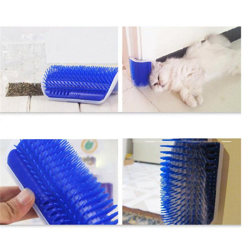 Щетка-чесалка Pet Cat для домашних животных угловая