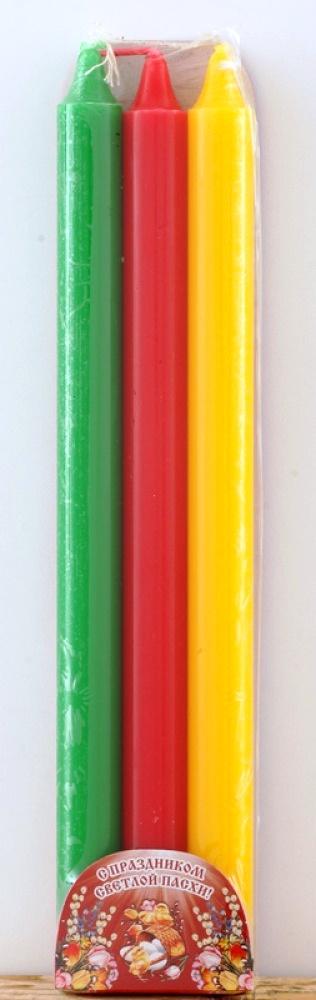 Набор свечей для Пасхального трехсвечника на сайте https://www.svechy-vosk.ru/