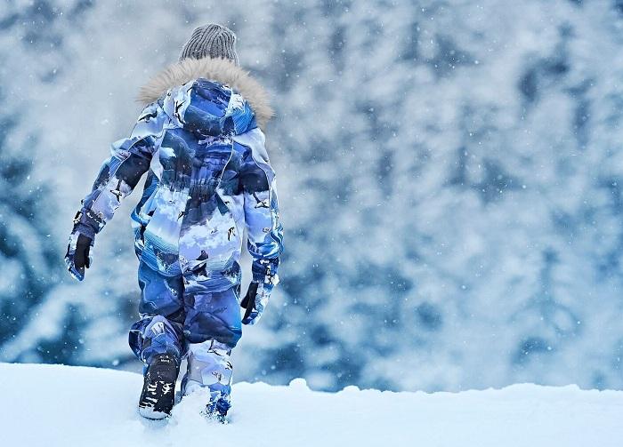Одежда Molo и комбинезон Molo Polaris Arctic Landscape в магазине Мама Любит!