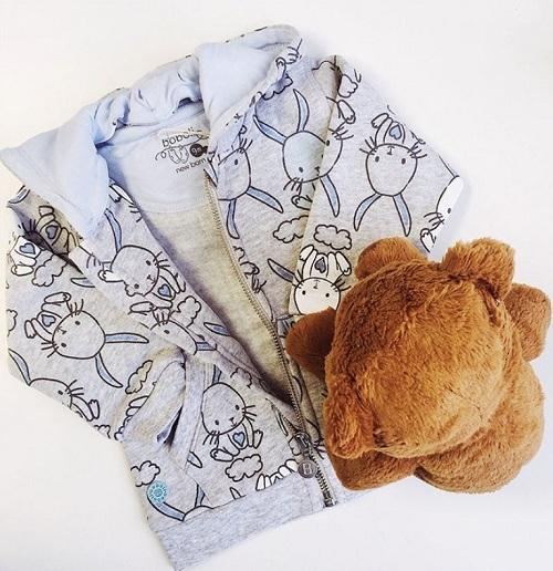 Толстовка Boboli Голубые зайчики купить в интернет-магазине Мама Любит!