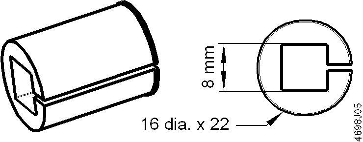 Размеры привода Siemens ASK78.6