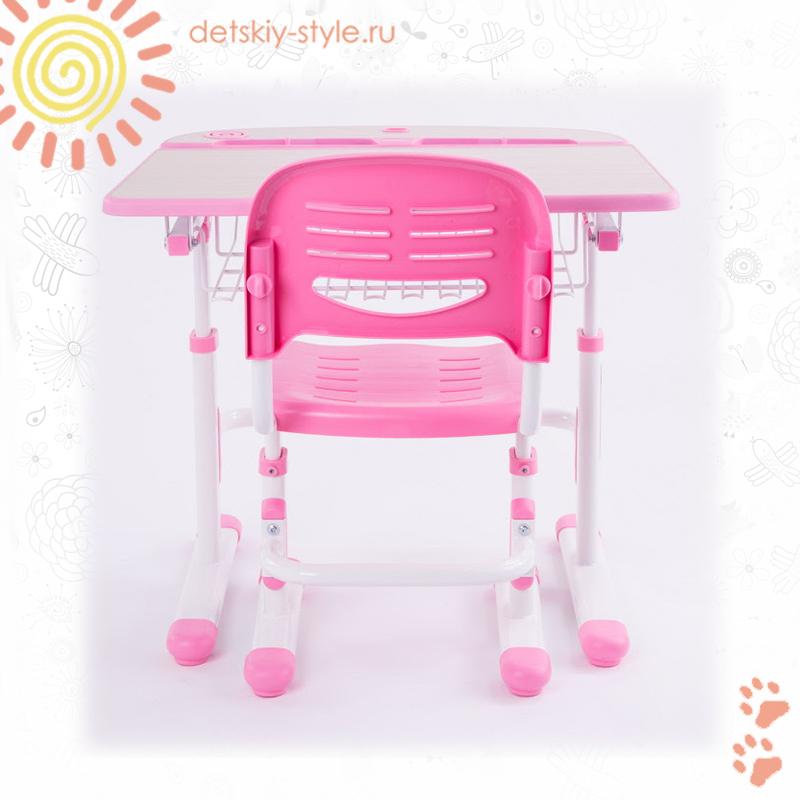 парта fundesk colore, комплект, купить, цена, стол со стулом, детская парта фандеск колор со стулом, дешево, бесплатная доставка по москве, интернет магазин, доставка по россии, стоимость, отзывы, заказать, заказ, официальный дилер, detskiy-style.ru