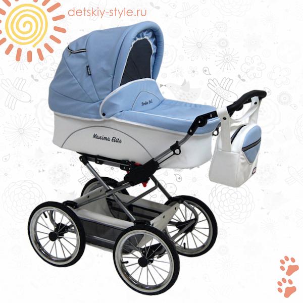 коляска stroller maxima elite xl, 2в1, кожа, кожаная коляска строллер, купить, цена, дешево, отзывы, стоимость, бесплатная доставка, доставка по россии