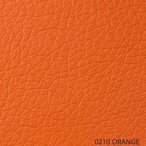 экокожа - оранжевый цвет