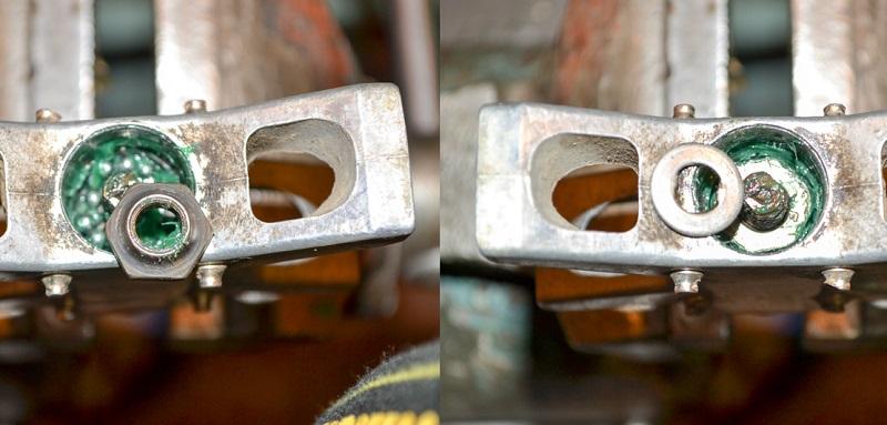 Как установить конус в педаль