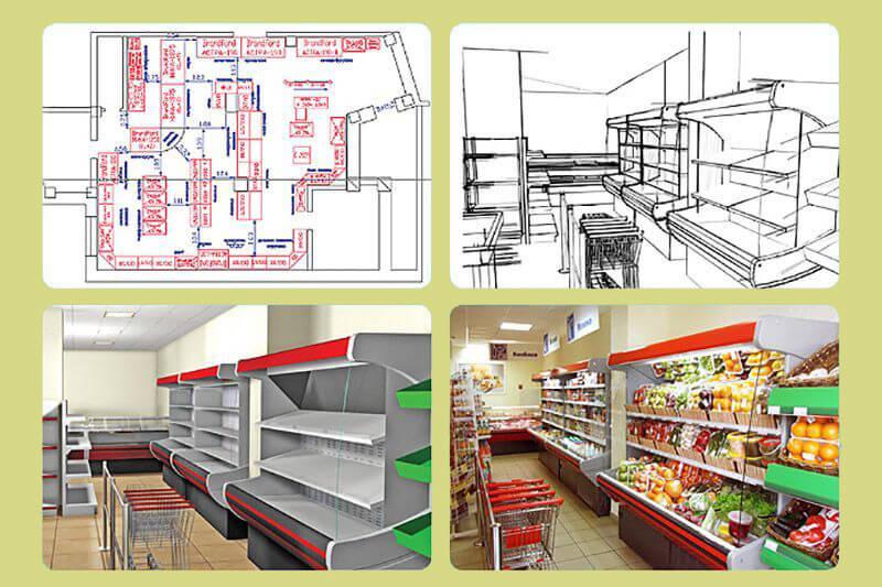 технологическое проектирование магазина