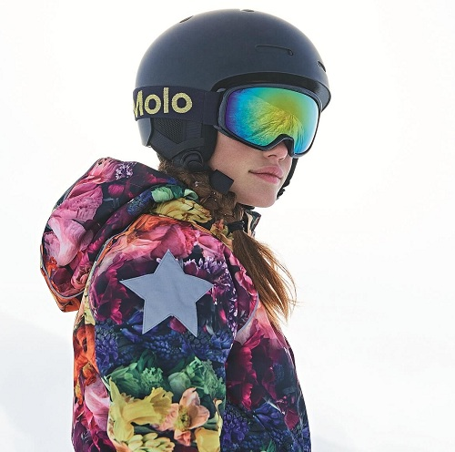Комбинезон Molo Polaris Flower Rainbow купить в интернет-магазине Мама Любит!