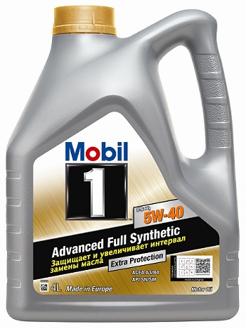 Масло Mobil 1 FS X1 5W40 100% синтетическое