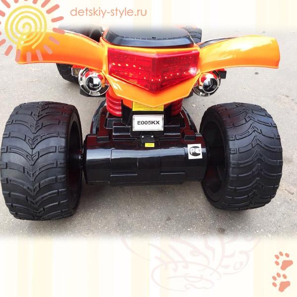квадроцикл river-auto e005kx, купить, стоимость, цена, заказ, заказать, бесплатная доставка по москве, доставка по россии, резиновые колеса, официальный дилер, онлайн, интернет магазин, отзывы, обзор, электромобиль e005kx, detskiy-style.ru