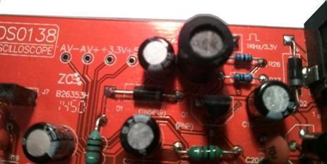 Радиоконструктор RI032. Цифровой осциллограф DSO138