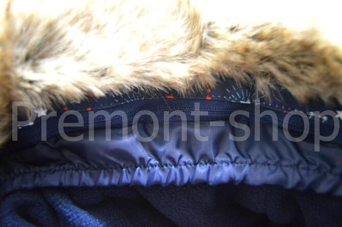 Ветрозащитная шторка на капюшоне от комплекта Premont Космос Хэдфилда
