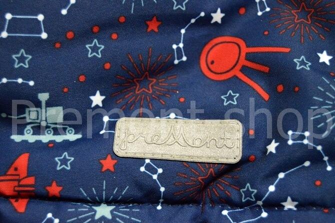 Светоотражающие логотип на комплекте Premont Космос Хэдфилда