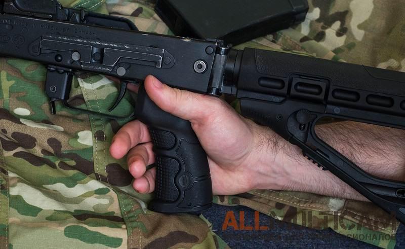 Обзор эргономичной рукоятки для АК-образных