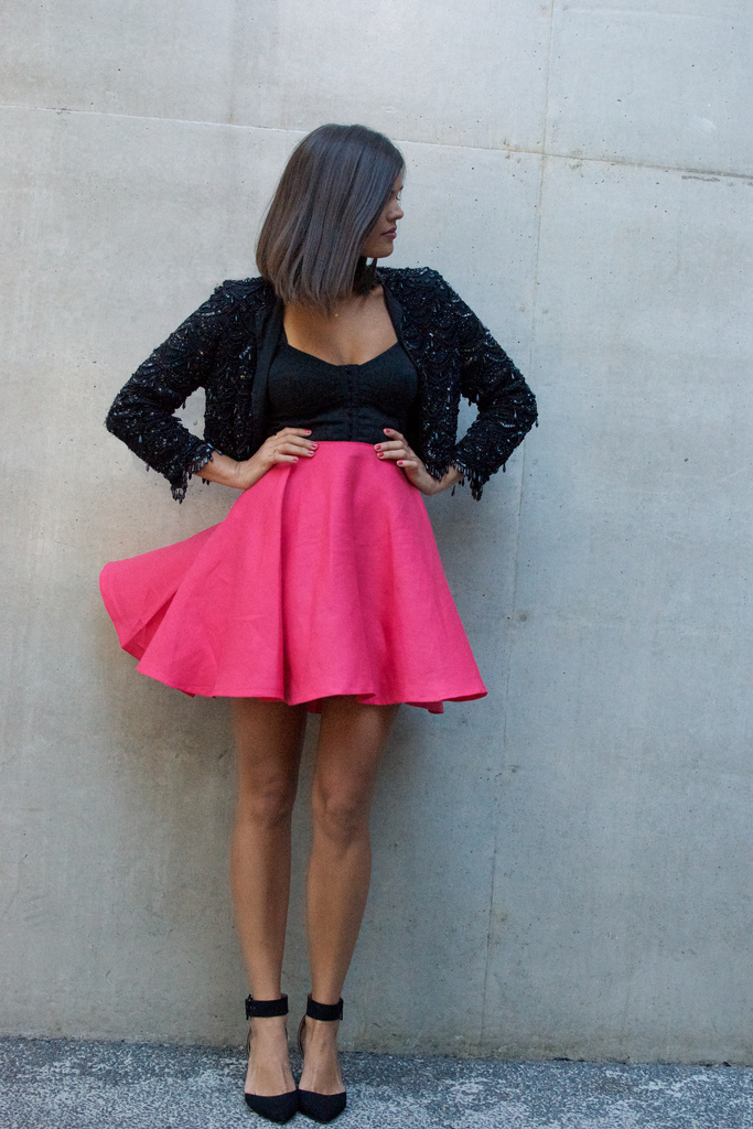 юбка солнце с чем носить