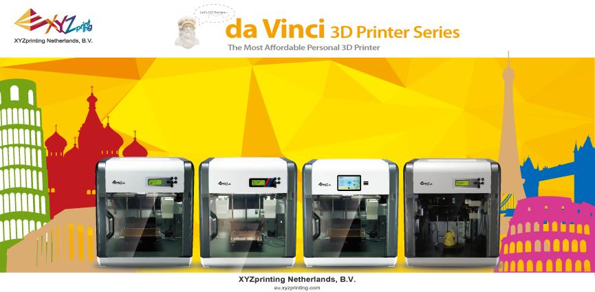 XYZprinting da Vinci 3D Printer - доступное решение для всех!