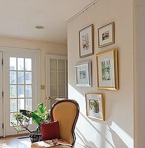 Система галерейной подвески картин