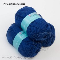 нажная пехорка 795-ярко синий