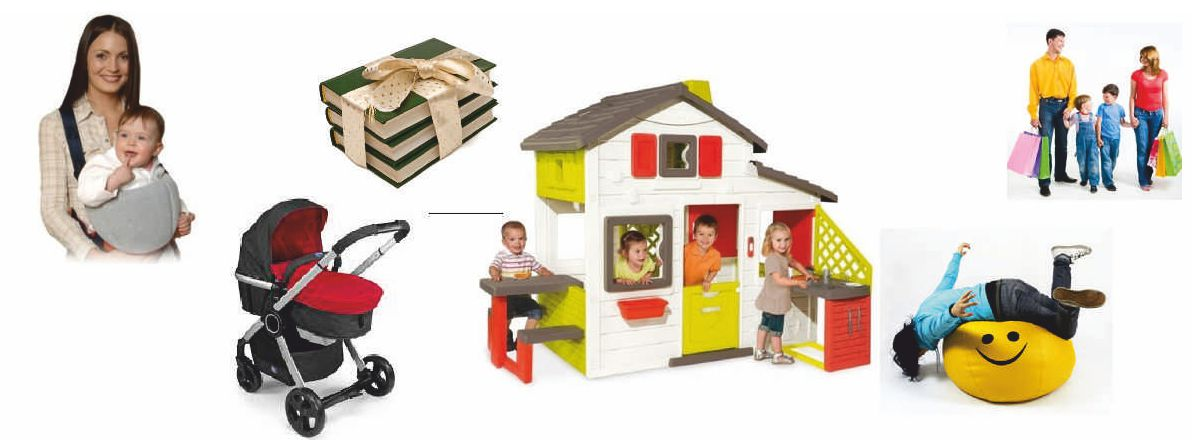 Товары для детей и их родителей в наличии и на заказ