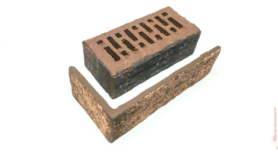 Угловая клинкерная плитка и клинкерный кирпич