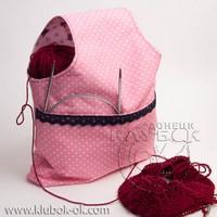 сумочка для вязания