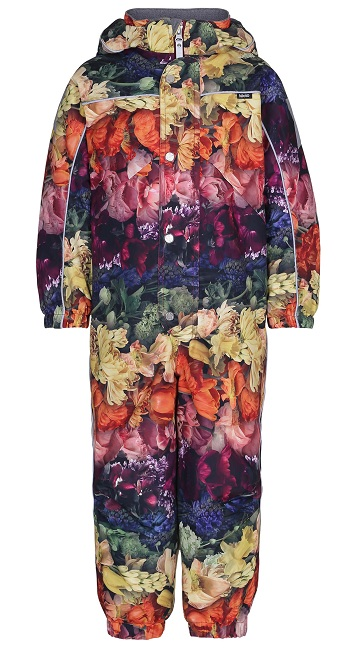 Комбинезон Molo Polaris Flower Rainbow для девочек (Зима 2018-2019)
