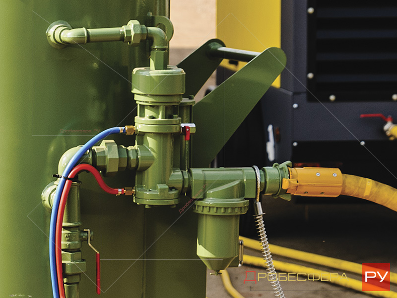 Пескоструйные аппараты с дистанционным управлением