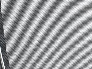 Вид обивки спинки-сетчатая ткань мелкая без прошивки