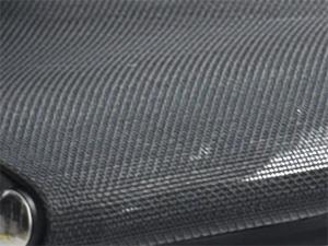 Обивка сиденья - сетчатая ткань мелкая