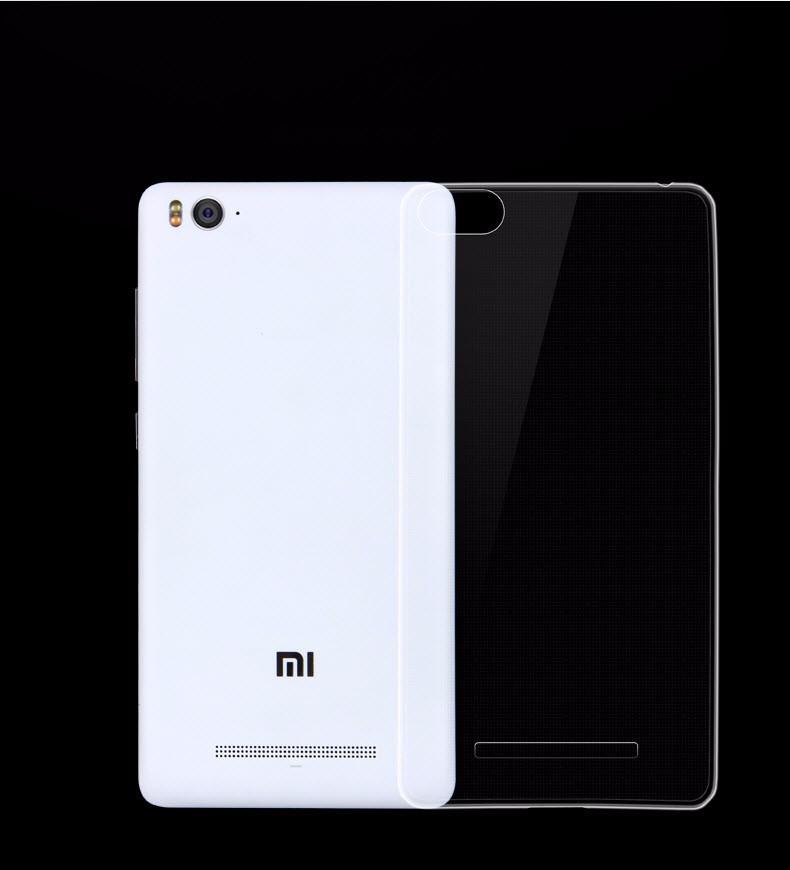 Чехол силиконовый для Xiaomi Mi 4i/ Mi 4c/ Mi 4s прозрачный