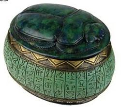 Шкатулка с нефритом. Древний Египет